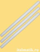 Термоклей цветной белый