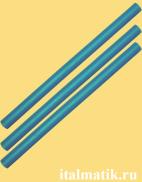 Термоклей цветной голубой