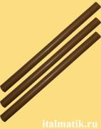 Термоклей цветной коричневый